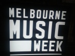 Melbourne music week at Where?house