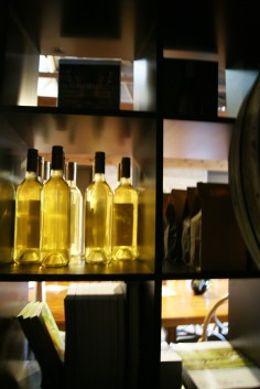 The well stocked shelves of Moorooduc Estate